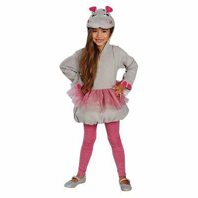 Rub - Kinder Kostüm kleines Nilpferd Flußpferd Karneval - Kinder Kostüme Pferd