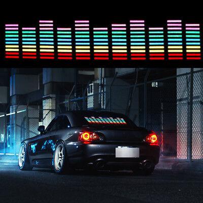5 Color Sound Activated Sticker Music Rhythm Light LED Flash Lamp Universal Kit