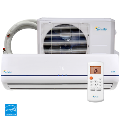Senville 12000 BTU Mini Split Air Conditioner with Ductless