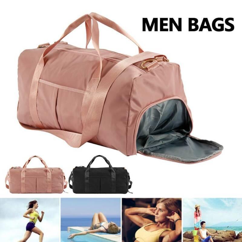 UK Ladies Travel Bags Hand Luggage Womens Waterproof Handbag Sport Yoga Gym Bags