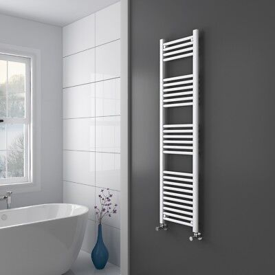 Radiateur sèche-serviettes Sanifun Medina 120 x 60 Blanc.