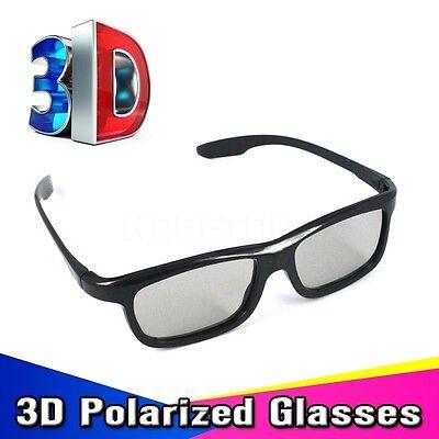 2 x Universal Passive 3D Glasses For LG Samsung TV & More