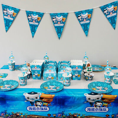 Octonauts Birthday Theme Party Decoration Tableware Range Banner Plates Cups etc](Octonauts Birthday Party)