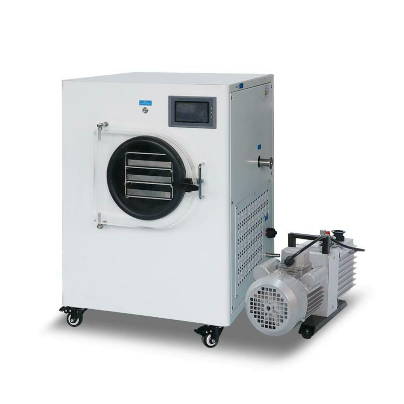 Lab/Home Vacuum Freeze Dryer Lyophilizer Freezing Drying Oven with Vacuum Pump