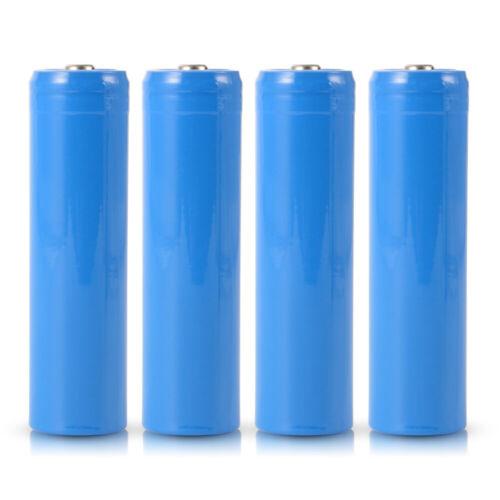 2pcs/4pcs 18650 Battery Pack 3.7V 2600mAh Rechargeable Li-io