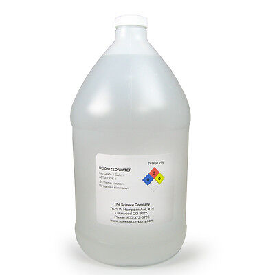 Nc-3064 Deionized Water 1 Gal. Low Conductivity Clean Room Type Ii