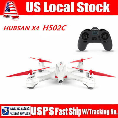 Hubsan X4 H502C 2.4G RC Quadcopter Drone with 720P HD Camera Auto Return GPS RTF