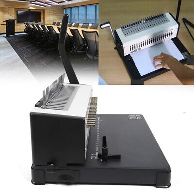 A4 Paper Puncher Binder 21 Holes Comb Binding Machine Detachable Punch Blade