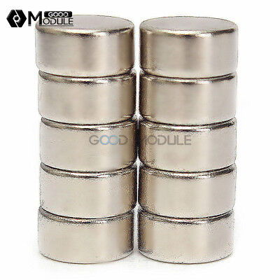 5pcs Magnet N52 10 X 5mm Strong Round Cylinder Rare Earth Neodymium Magnets