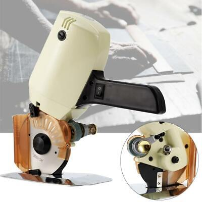 "4"" Electric Fabric Rotary Cutter Cloth Leather Cutting Machine Scissors Blade"