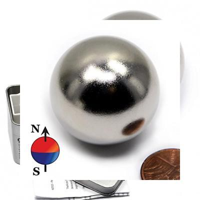 Cms Magnetics 1.26 Sphere Neodymium Magnet One Piece Ball - Novelty Toy For...