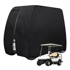 Waterproof 4 Passenger Golf Cart Cover Fits EZ Go/Club Car/Yamaha Dust Sunproof