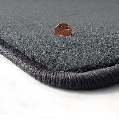 Velours schwarz Fußmatten passend für BMW Z1 89-91