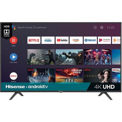 "Hisense 50H6590F 50""  Wall-Mountable 4K UHD Android Smart TV -  3 x HDMI 2 x USB"