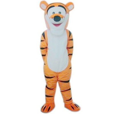 Winnie The Pooh Tiger Mascot Costume Halloween Party Fancy Dress Suit Adult Size - Winnie The Pooh Halloween Costumes Adults