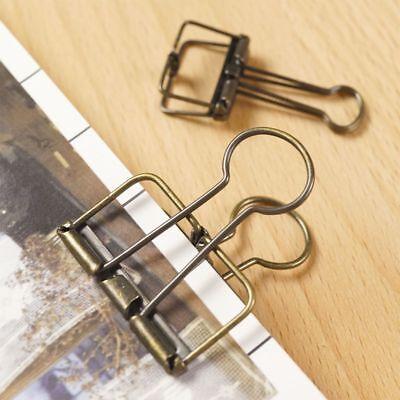2pcs Paper Office Metal Home Clips Organizer File School