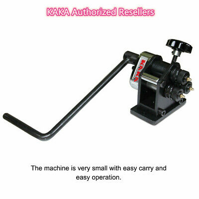Kaka Industrial Pr-3 Manual Plate Steel Ring Roll Bender Easy Operation