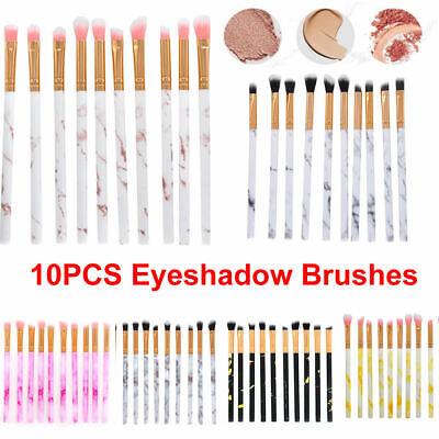 10 PCS Eyeshadow Make up Brushes Eyebrow Eyeliner Eye Lip Brusher Xmas Gift