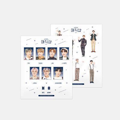 BTS [5TH MUSTER MAGIC SHOP] Deco Sticker Set