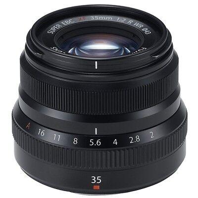 Fuji Fujifilm Fujinon XF 35mm F2 R WR - Schwarz