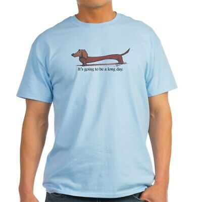 CafePress Long Day Dachshund T Shirt T Shirt 100% Cotton T-S