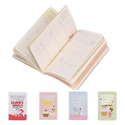 Girls Cute Diary Pocket Planner Notebook Journal ...