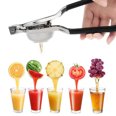 Stainless Protect Lemon Orange Lime Squeezer Juicer Hand Press Kitchen Tool US