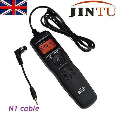 UK Intervalometer Timer Remote Shutter for NIKON D800 D300s D4s D4 D3s D5 MC-30