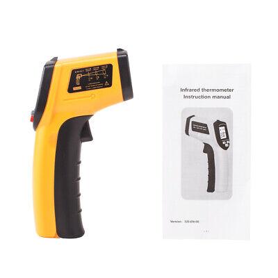 Digital Temperature Temp Gun Sensor Measuring Heat Laser Infrared Thermometer