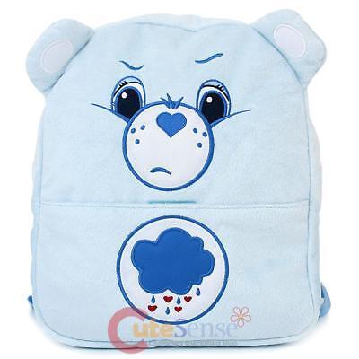 �r Rucksack 30.5cm Blau Bär Plüsch Schule Tasche mit Ohr (Care Bears Grumpy Bear Plüsch)