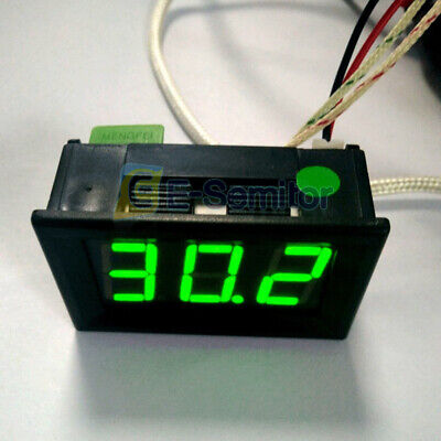 B310 Digital Led Green Thermometer Dc 12v Temperature Meter K-type Thermocouple