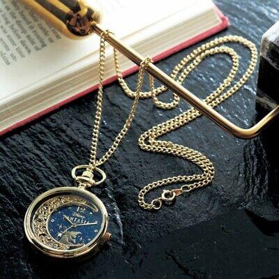 Disney Mickey Mouse Fantasia Pocket Watch Necklace Pendant Japan Limited