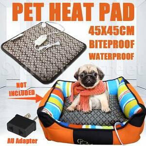 Electric Pet Heat Heated Pad Mat Blanket Bed Dog Puppy Cat Warm Regents Park Auburn Area Preview