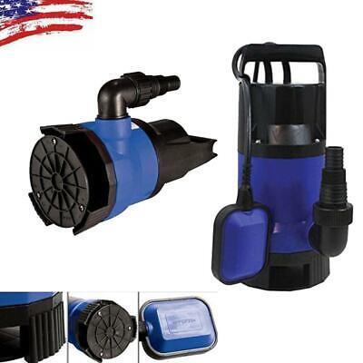 12hp 2000gph Submersible Dirty Clean Water Pump Swimming Pool High Quality