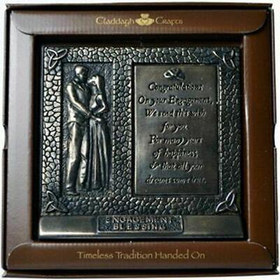 Bronze Irish Engagement Blessing Plaque 6