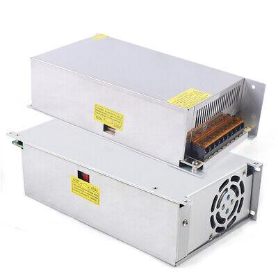 2pcs 12v 50a Amp Single Output Switch Switching Power Converter Supply Usa