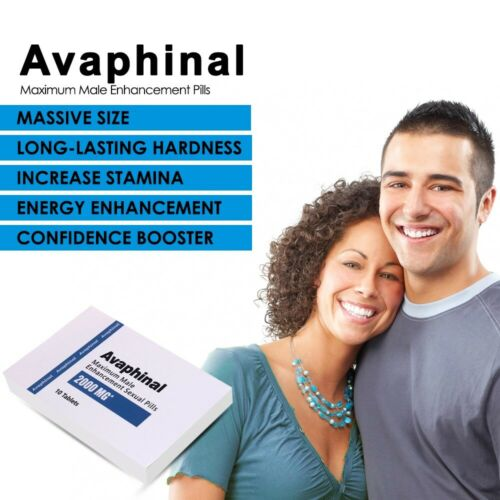 Avaphinal Premium Maximum Male Enhancement ED Pills - ERECTION GUARANTEED