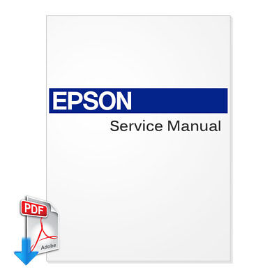 Epson Stylus Pro 4880 Large Format Printer And Plotter Service Manual - Pdf