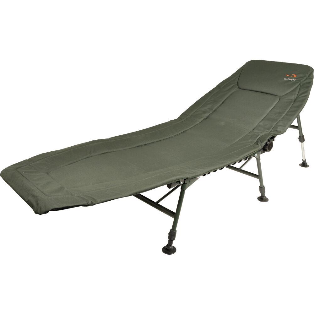 TF Gear Survivor 3 Leg Carp Fishing Bedchair Strong and Lightweight Camo Pattern