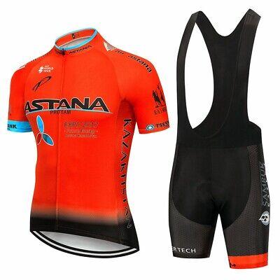 2020 equipo ASTANA conjunto de Ropa de Ciclismo hombres bicicleta Maillot  image
