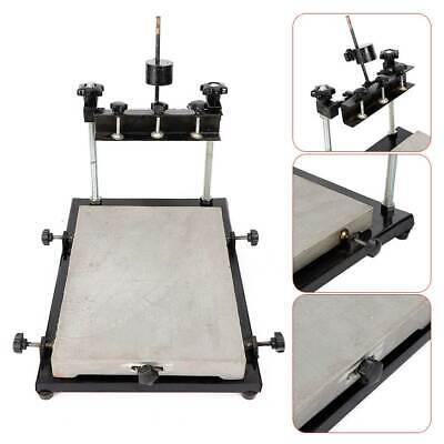 Adjustable Manual Solder Paste Stencil Printer Pcb Smt Printer 440x320mm 10kg