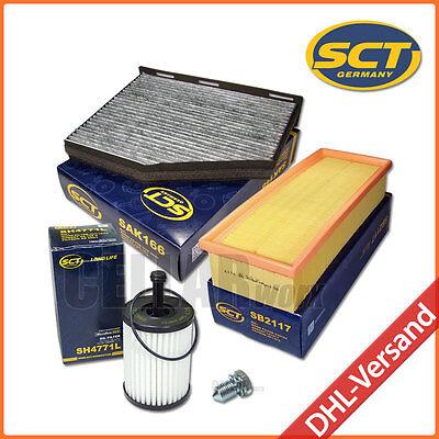 Pollenfilter Luftfilter Ölfilter | VW Passat 3C B6 & Touran 1T | 1.9 & 2.0 TDI