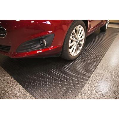 Garage Deck Mats For Cars Heavy Duty Flooring Rubber Roll Out Liner Living quarters Black