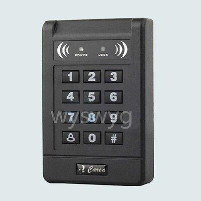Rfid Id Proximity Reader Keypad Wg26 125k Access Control Free 5 Cards Black