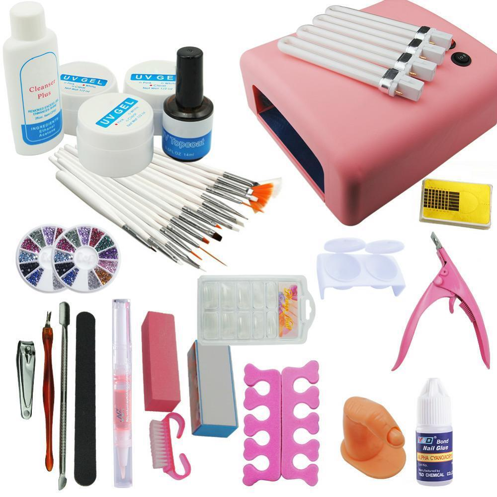 Valuable Combo Nail Art Kit Professional Salon Grooming