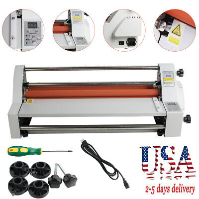 Electronic 450mm Singledual Sided Hot And Cold Roll Laminating Machine Safe Use