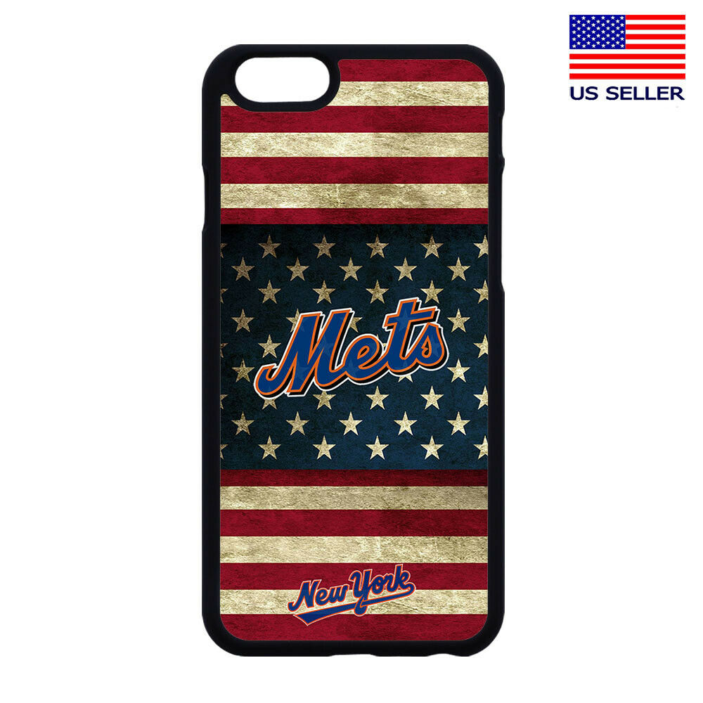 NEW YORK METS PHONE CASE COVER FOR IPHONE XS MAX XR X 4 5 6