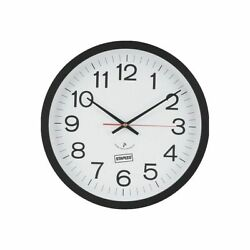 NEW Staples 14 Round Atomic Wall Clock (18383) 812291         BOX A81