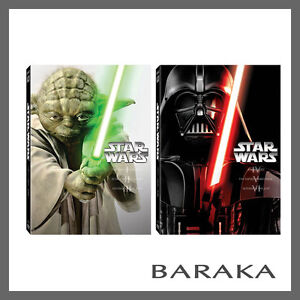 STAR WARS Prequel and Original Trilogy 1 2 3 4 5 & 6 DVD set 1 - 6 R4 New Sealed