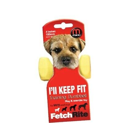 Mikki Training Dumbbell Dog Activity Fetch Toy - Extra Small - Ill Keep Fit